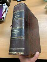 1893 Französisch Law Dalloz - Recueil Periodique De Jurisprudence Riesig