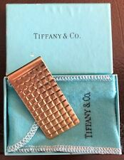 Tiffany & Co. Solid 14k Gold Money Clip
