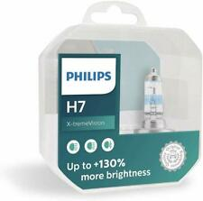 Philips H7 X-treme Vision +130% Headlight Bulbs 12V55W xtreme extreme(pack of 2)