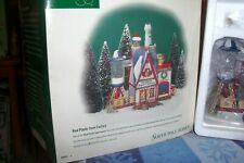 Dept 56 Real Plastic Snow Factory #56403 North Pole Village Reired Nib