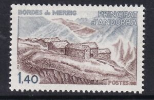 ANDORRA/ FRENCH POST OFFICES 1981 ARCHITECTURE  SG F310  MNH