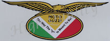 MOTO GUZZI EAGLE THE WAY THE V IS MEANT TO BE    ---   DECAL / STICKER.   Z021.