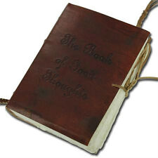 Book of Good Thoughts Large Medieval Journal - Brown