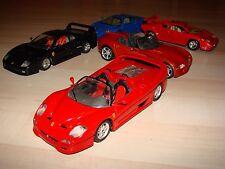 Ferrari F50 1:24 Bburago / rot / Modellauto / gebraucht / Sammlungsauflösung