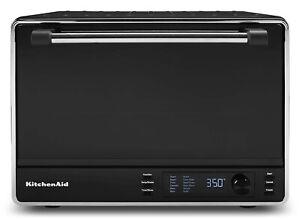 "KitchenAid 12"" Dual Convection Digital Countertop Oven   Black Matte"
