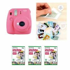 Fujifilm Instax Mini 9 cámara Flamingo Pink 3 Packs Fuji Film 30 Foto 8