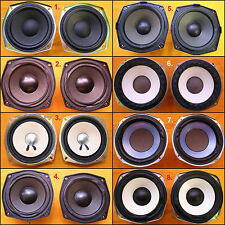 Assorted AIWA & SONY 5 - 5.5 inch Replacement Speakers