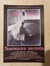 carte postale cinéma SOUVENIRS SECRETS Jane Birkin John Gielgud