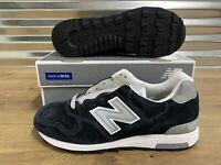 New Balance x J Crew 1400 Classic Running Shoes USA Navy Suede SZ ( M1400NV )