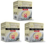 Cioccolata Bianca/Weiße Trink-Schokolade (30 Einzelbeutel) - Caffè Bonini