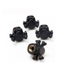 4 pièces skull tete de mort bouchons de valve MOTO BIKE HARLEY BOBBER valve Caps