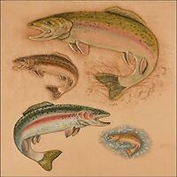 Wildlife Trout Craftaid 76644-00 by Tandy Leather