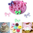 Bow Shape Silicone Fondant Mould Cake Decorating Chocolate Cute Baking Mold DIY