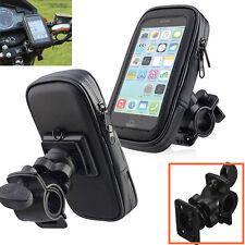 Motorcycle Bike Bicycle Waterproof Phone GPS Case Bag Handlebar Mount Holder