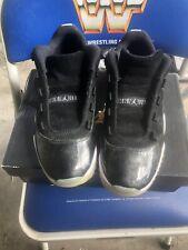 Men's Nike Air Jordan 11 XI Retro Low Barons Black White Size 8 528895-010