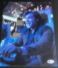 ALDEN EHRENREICH SIGNED AUTOGRAPH STAR WARS HAN SOLO BRAND NEW PHOTO BECKETT B