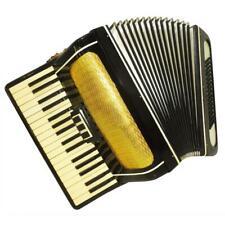 Piano Accordion Volna, made in Russia, 80 Bass, Folk Keyboard Accordian, 1120