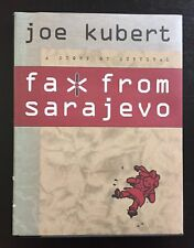 "JOE KUBERT - SIGNED - ""FAX FROM SARAJEVO"" - 1ST ED. - W/DJ - VERY RARE"