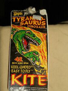 "Vintage Gayla Kite Tyrannosaurus T Rex Dinosaur #125 42"" 1992 Nos Rare Sealed"