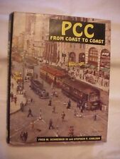 1983 HB Book PCC FROM COAST TO COAST, plus CHARTS of CARS SOLD; RAILROAD, TRAINS