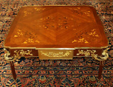 Fantastic Louis Xvi French Style Inlaid Occasional Coffee Table
