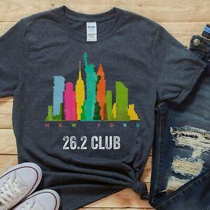 NYC marathon shirt, NEW YORK CITY marathon runner tee, running shirt, 26.2 shirt