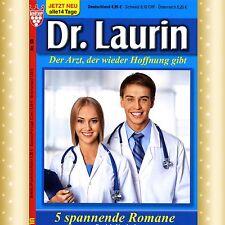 NEU & UNGELESEN * 5 Arztromane DR. LAURIN * Nr. 96 - 100 * GROSSE SCHRIFT