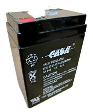 6V 4AH CASIL CA640 Battery Replacement for CSB GP640