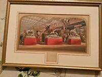 Rare George Baxter Print 'Gems of the Great Exhibition' No. 4