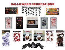 Banners De Pared De Puerta Decoración Halloween Aferra Zombies Bruja Fantasma de asilo
