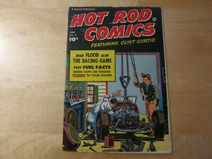 Hot Rod Comics #3, 4, 5 all attractive vg to fine issues. uncommon in nice cond