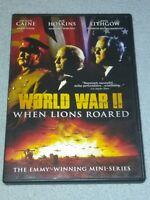 World War II: When Lions Roared - The Emmy-Winning Mini-Series -RARE