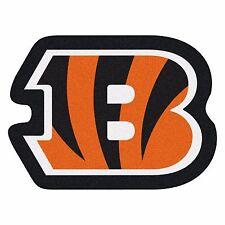 Cincinnati Bengals Mascot Decorative Logo Cut Area Rug Floor Mat