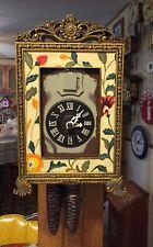 Vintage Rare Framed Cuckoo Clock Germany