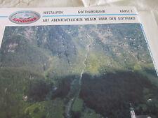 Alpenbahnen Westalpen K 1 Gotthardbahn Zürich Bellinzona Gesamtstrecke