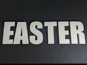 EASTER Polystyrene Decorative Letters - 380mm high - 25mm thick