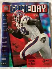 Buffalo Bills vs Miami Dolphins - Game Day Magazine - October 29, 1995