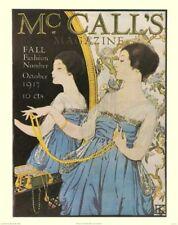 McCall's Magazine October 1917 Hannah Klingberg Art Print 13x9