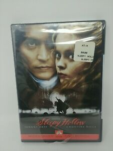 Sleepy Hollow SEALED DVD Johnny Depp Widescreen Collection Sealed