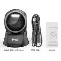 Eyoyo Auto Sensing Scanning Reader Barcode Scanner QR Code 1D 2D Code For Store