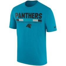 Carolina Panthers NFL Nike Blue Sideline Legend Staff Performance T-Shirt - L