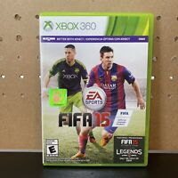 FIFA 15 (Microsoft Xbox 360, 2014) Works W/ Kinect-Soccer Video Game-Tested