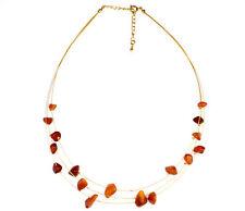 SilverAmber Jewelery Amber Necklace NE0096 made with Genuine Baltic Amber Stone