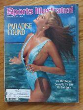 SWIMSUIT ISSUE 1st Sports Illustrated ELLE MACPHERSON 2/10/86 Magazine