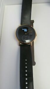 Withings Nokia Steel HR Activity Tracking Watch 36mm Rose Gold/Black