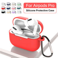 For AirPods Pro Apple Wireless Charging Case Soft Silicone Protective Cover Skin