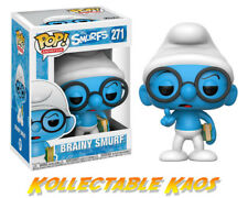 The Smurfs - Brainy Smurf Pop! Vinyl Figure
