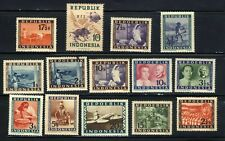 1948-1949 INDONESIA  STAMP 14-COLLECTION MNH OG