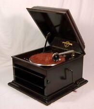 Musikinstrumente United 90 Jahre Altes Decca Junior Portable Grammophon Funktionell Im Guten Zustand