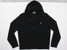 Mens Polo Ralph Lauren Cotton Knit Mesh Full Zip Hoodie Hooded Jacket XL NWOT